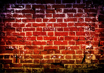 Old wall of brick