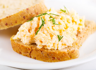 sandwich with egg salad