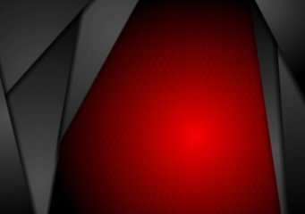 Abstract dark vector tech background
