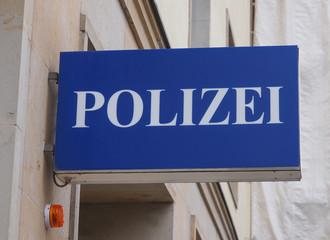 Polizai police sign