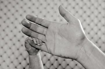 Newborn baby - hand