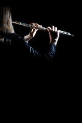 Flute music player flutist