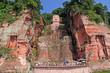 Leinwanddruck Bild - Leshan Giant Budha