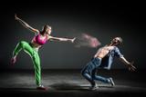 Chorégraphie danseurs poster