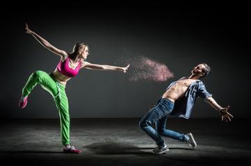 Chorégraphie danseurs
