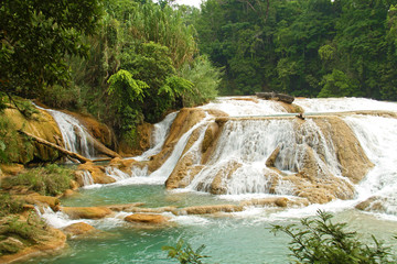 Aqua Azul waterfall