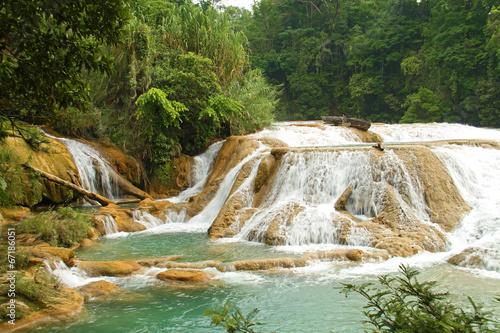 Aqua Azul waterfall - 67186051