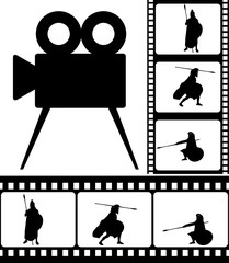 movie camera and films
