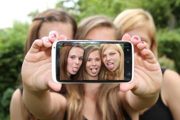 Selfie Zunge rausstrecken
