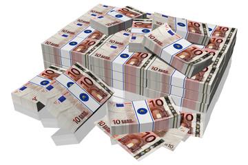 € 10 mazzette