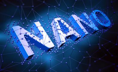 Nano technology concept