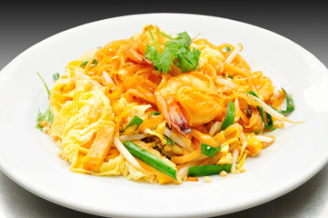 Pad Thai with Fresh Shrimp