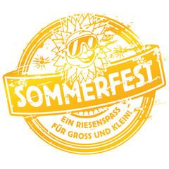 Stempel Sommerfest