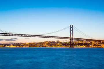 Lisbon April Bridge Portugal