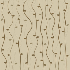 Vine Pattern Background