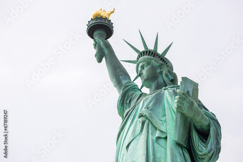 Tuinposter Artistiek mon. Statue of Liberty