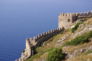Castle in Alanya, Turkey