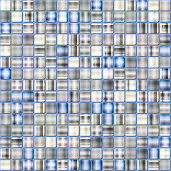 Technology abstract metallic silver background