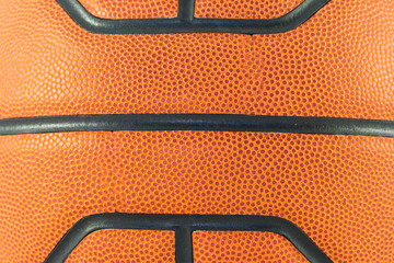 Close up basketball  background