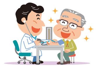 血圧測定 医師 高齢者