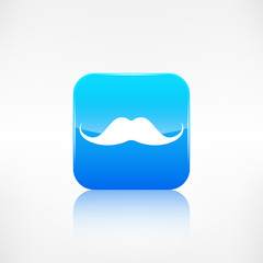 Hipster moustaches icon