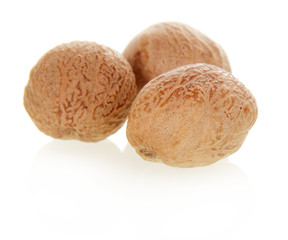Three nutmeg