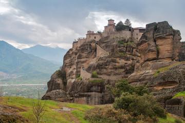 Monastery in Meteora, Greece