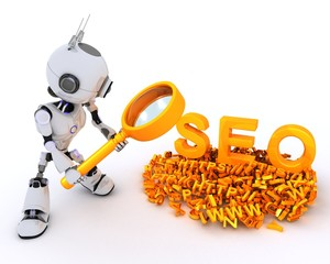 Robot search engine optimisation