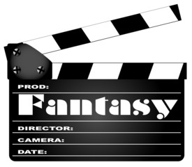 Fantasy Movie Clapperboard
