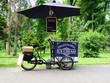 Ice cream cart on a bicycle