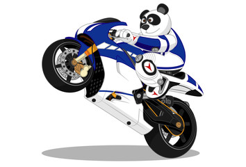 Panda lifestyle motorcycle