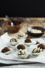Chocolate Balls with almond