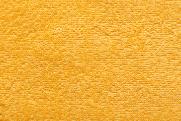 yellow towel as a background for your message