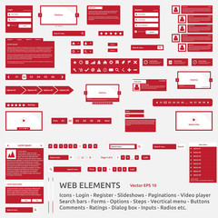 Web elements template
