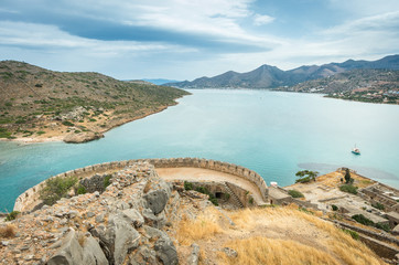 spinalonga island ,crete - greece