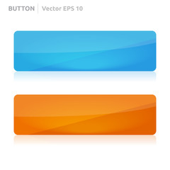 Button template | web blue and orange