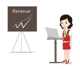 Business Presentation Woman