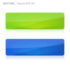 Button template | web green and blue