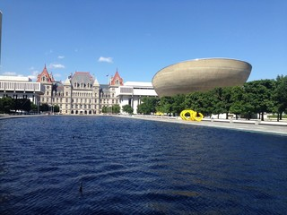 The state capital of New York Albany