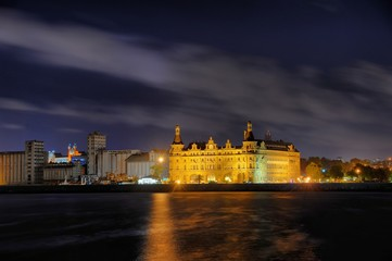 Haydarpasha Station Building in night - Haydarpasa Gar