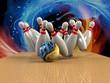 Bowling  Game Strike rot - 67204405