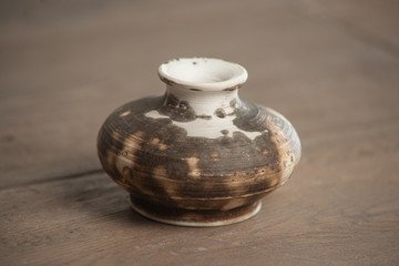 Traditional handcrafted vase