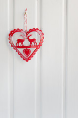 Christmas decoration heart