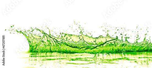 lime drink splash - 67207881