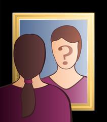 Mirror Who Am I Woman