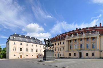 Platz der Demokratie in Weimar / Thüringen
