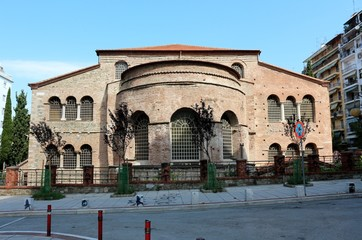 Church of the Acheiropoietos, Thessaloniki, Greece.