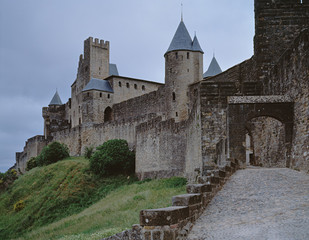 The castle Carcassone