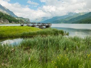 Lago al Maloja Pass