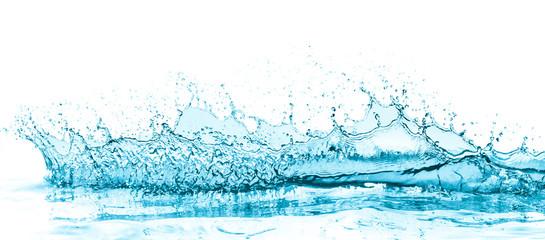 turquoise water splash © kubais